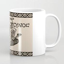 Be Cheerful, Live Well Skeleton Coffee Mug