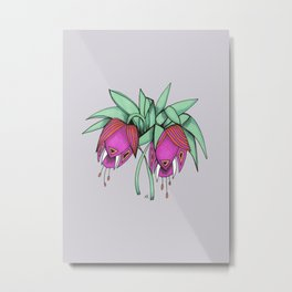 Delicate As A: Crown Imperial Fritillary Metal Print
