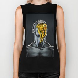 Love is the Only Gold Biker Tank