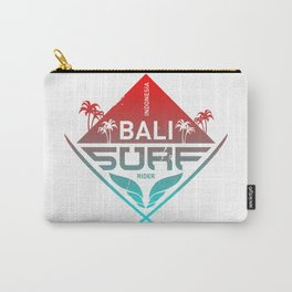 Bali Surfing Surf Indonesia Carry-All Pouch
