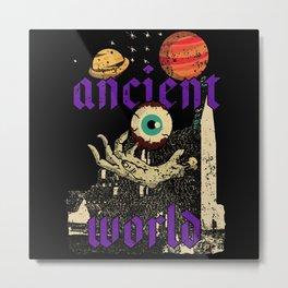 Ancient World Metal Print