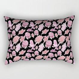 Beautiful Autralian native Floral Print Rectangular Pillow