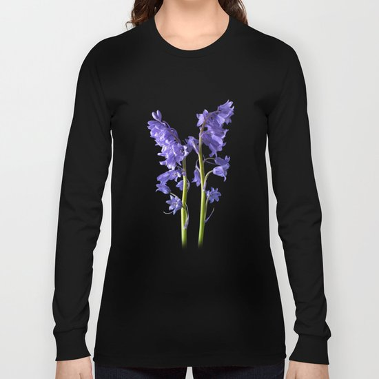 Bluebells, From the very Woods I Created! Long Sleeve T-shirt