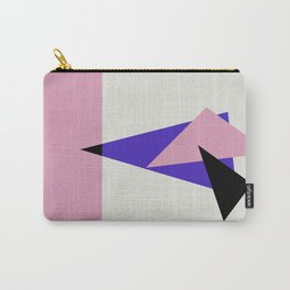 Misplaced Triangles Pastel // www.pencilmeinstationery.com Carry-All Pouch