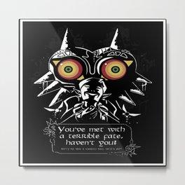 majora mask zelda Metal Print