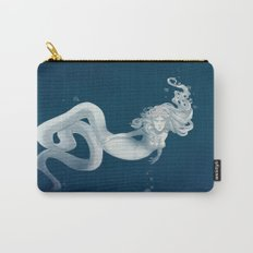 Elegant Sea Snake Mermaid Carry-All Pouch
