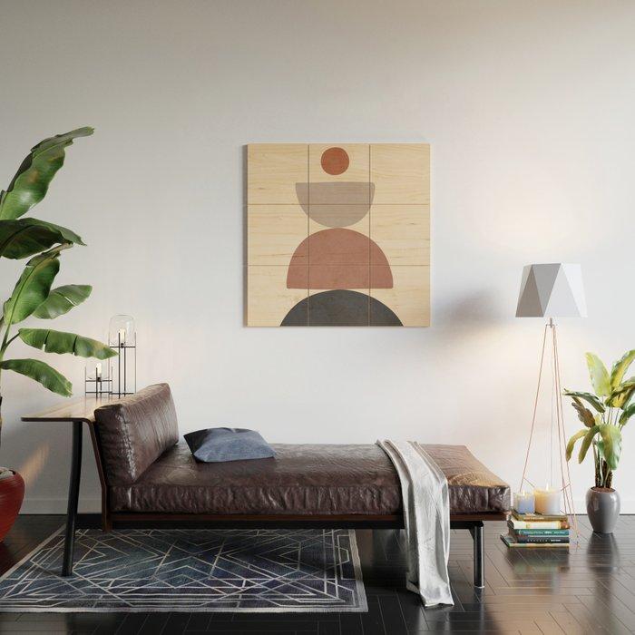 Balancing Elements III Wood Wall Art