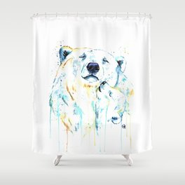 Polar Bear Unconditional Love Shower Curtain