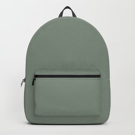 Green Pantone #839182 Backpack