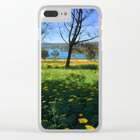 Springtime Comes to Lake Murray, La Mesa, CA Clear iPhone Case