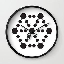 Jugglers Metatron Black Wall Clock