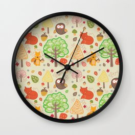 nature for kids Wall Clock