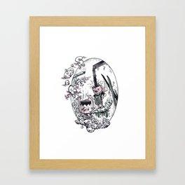 Kappaccino and Dekappa #5 Framed Art Print