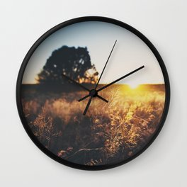 an Arizona sunset ... Wall Clock