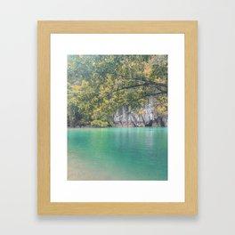 Underground River Palawan Framed Art Print