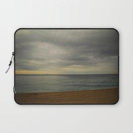 Barcelona beach Laptop Sleeve