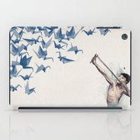 word iPad Cases featuring Lucky Shot by David Fleck