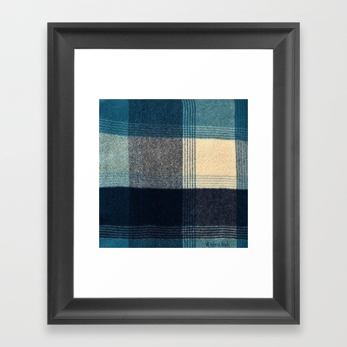 Abstract Flannel Gerahmter Kunstdruck
