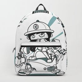 Armored Buster Backpack