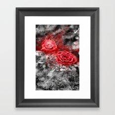 Gothic romance Framed Art Print