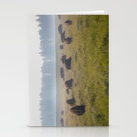 buffalo Stationery Cards featuring Buffalo by Claire Laminen Photo