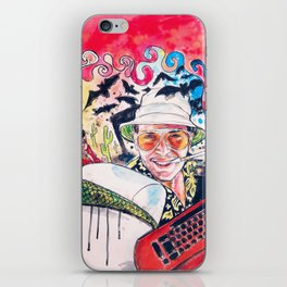 Fear and loathing iPhone Skin