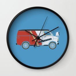E.T.'s new Pimp Ride Wall Clock