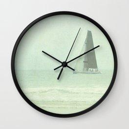 Sail Away - Newport Beach California Wall Clock
