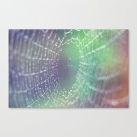 psychedelic Canvas Prints featuring Psychedelic by Karin Elizabeth