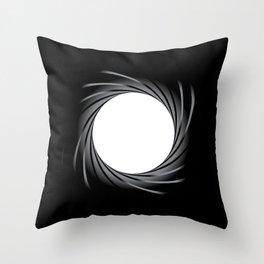 Rifled Barrel Throw Pillow