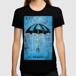 El Paraguas Mexican Loteria Bingo Card T-shirt