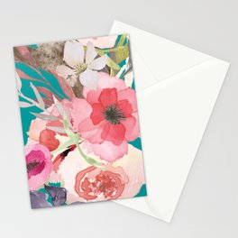Flowers , floral , shabby chic décor,  flower decor , Stationery Cards