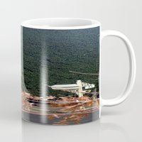 aelwen Mugs featuring Behind the Gate by Chris' Landscape Images & Designs