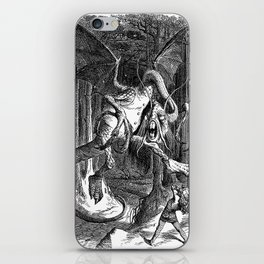 The Jabberwocky iPhone Skin