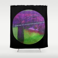 bridge Shower Curtains featuring Bridge by Last Call