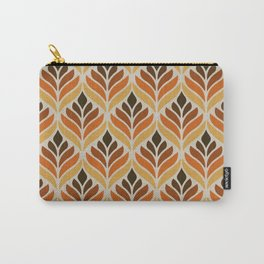 Retro Flower Pattern Carry-All Pouch