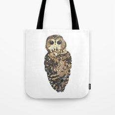 Northern Spotted Owl. Tote Bag