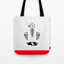 Fishbird Tote Bag