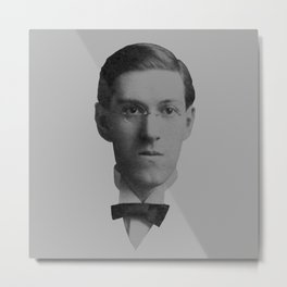 Lovecraft 3 Metal Print