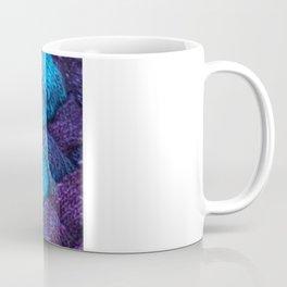 Blue Entrelac Coffee Mug
