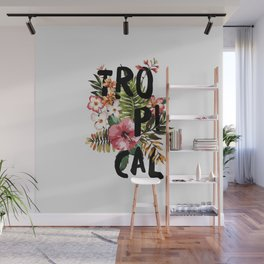 Tropical I Wall Mural