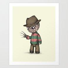Plushie On Elm Street Art Print