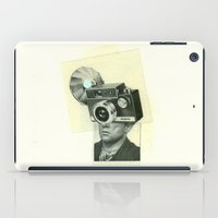 cyclops iPad Cases featuring cyclops by Cut and Paste