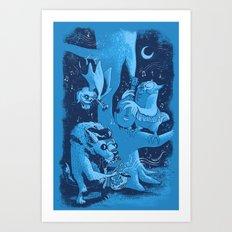 Children of the Night Art Print