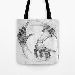 hand of life Tote Bag