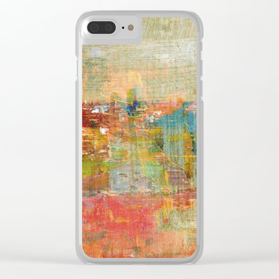 City By The Lake Clear iPhone Case