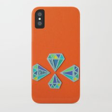 Diamonds Papercut Slim Case iPhone X