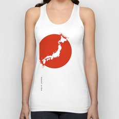 Save Japan! Unisex Tank Top