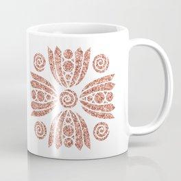 Glittery Mandala Coffee Mug