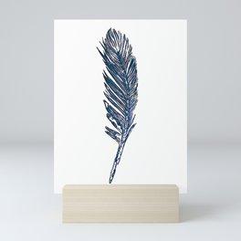 Corvus corax Mini Art Print
